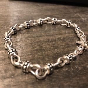 Jewelry - Silver lobster clasp bracelet